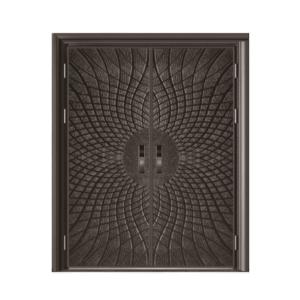鋼鑄鋼木門