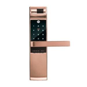 YALE耶魯 YDM7116A 半導體觸控電子鎖(玫瑰金) 公司貨