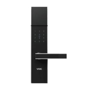 VOC RX8108 指紋/卡片/密碼/鑰匙四合一電子鎖(鑽石黑) 公司貨