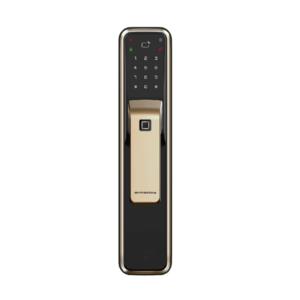 DORMAKABA DP850 指紋/卡片/密碼/鑰匙/藍芽 五合一智慧電子鎖 香檳金 公司貨